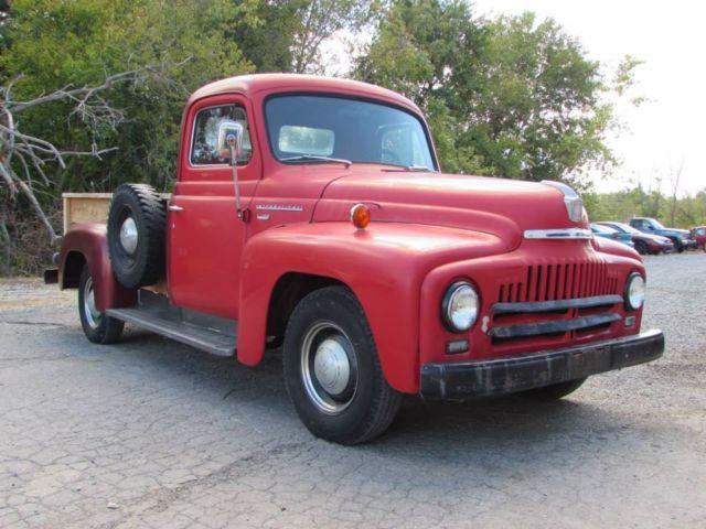 1952 International Harvester L 110 Pickup * No Reserve for