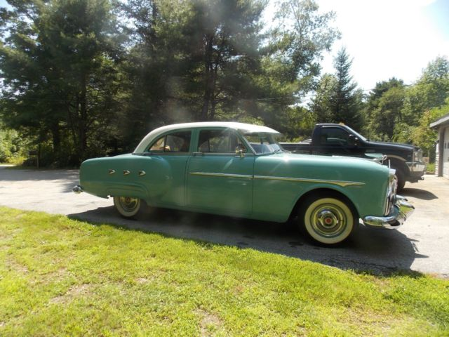 1952 packard 4 door coupe