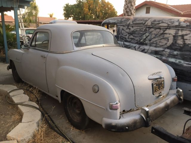 1952 Plymouth Concord Business Coupe Project Car For