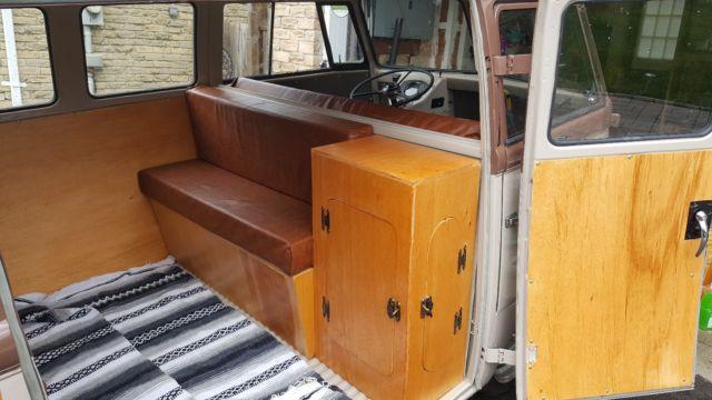 1952 Vw Barndoor Split Window Bus Very Nice