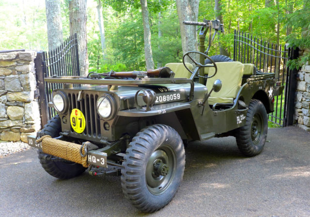 Willys Military Jeep Sale >> 1952 Willys M38 Army Jeep Fully Restored Military Antique