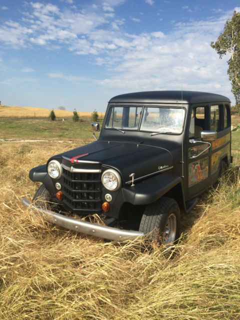 1952 willys wagon 4x4 w chevy engine for sale in atchison