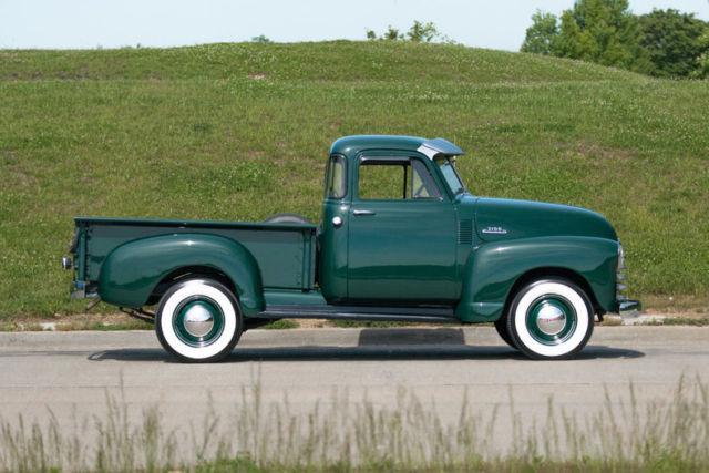 1953 chevrolet 3100 5 window pickup restored original inline 6 cylinder. Black Bedroom Furniture Sets. Home Design Ideas
