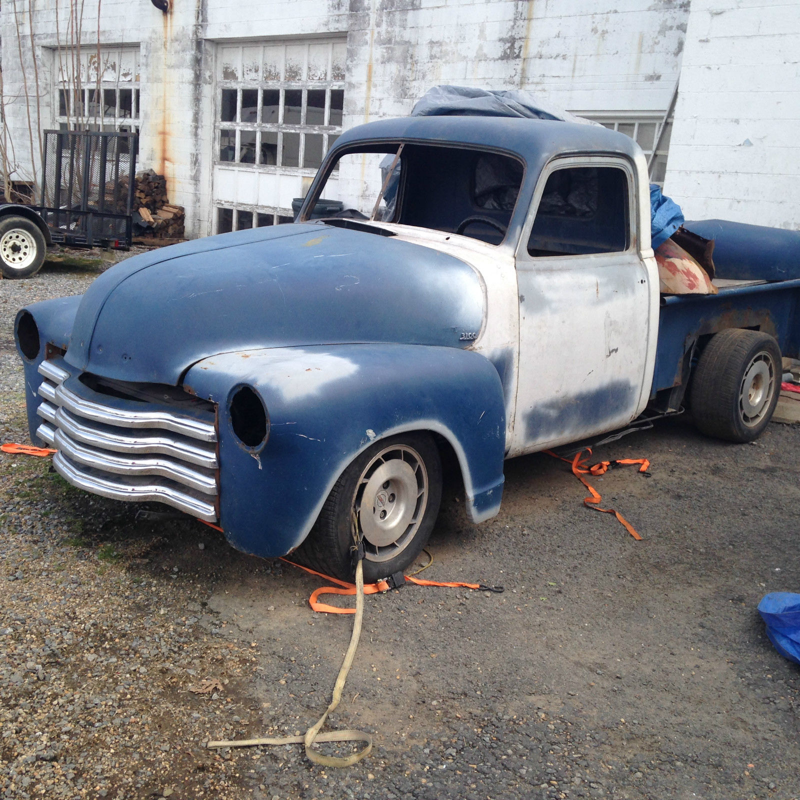 1953 Chevrolet 3100 Hot Rod Pickup 350TPI IRS Project For