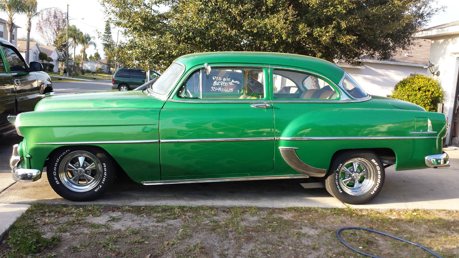 1953 Chevrolet Bel Air Base Coupe 2 Door 350 V8 For Sale