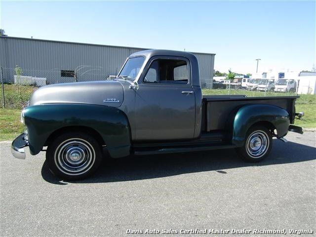 1953 chevrolet classic 3100 series 439 miles green pickup truck automatic. Black Bedroom Furniture Sets. Home Design Ideas