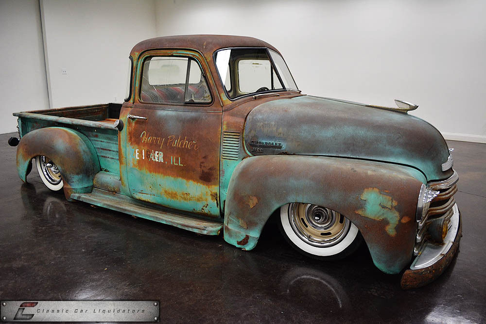 1953 Chevrolet Custom Air Ride Pickup 5 Window S10 Chassis 4 Link V8 For Sale In Sherman Texas United States For Sale Photos Technical Specifications Description