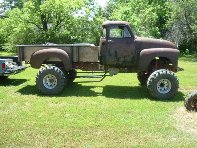 1953 Chevrolet Truck Project Rat Rod 4x4