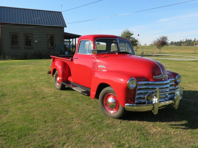1953 chevy 3100 1 2 ton pickup 5 window for 1953 chevy 5 window pickup