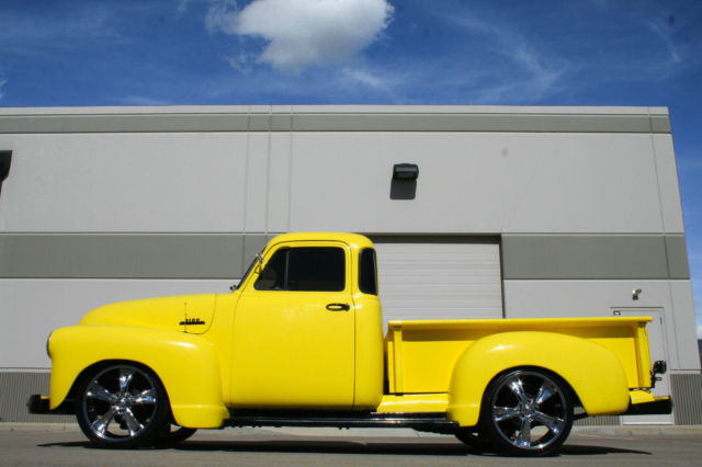 1953 Chevy 3100 5 Window Custom Hot Rod Cruiser C10 1948