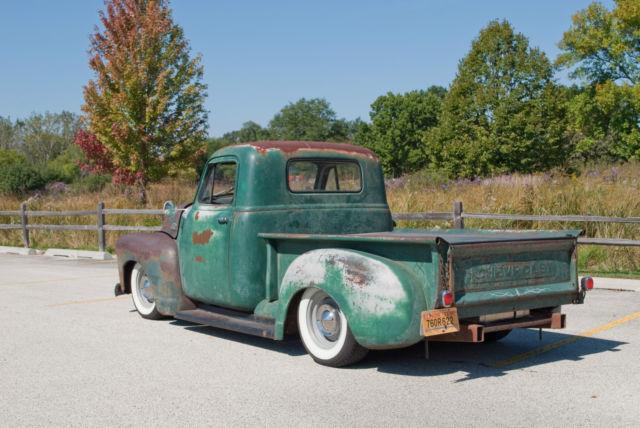 Libertyville Chevrolet 1953 Chevy Truck Rat Rod / Hot Rod - Custom Race Ready ...