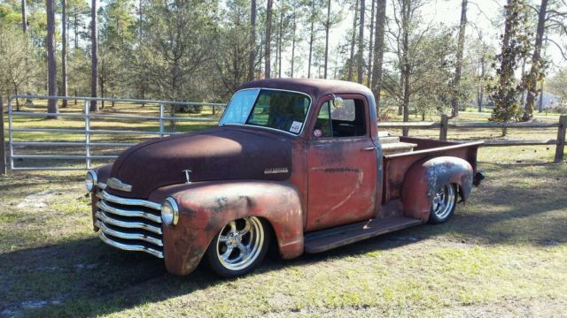 1953 Chevy Truck Youtube Video Ratrod Shop Truck Patina