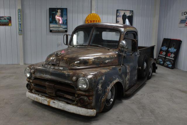 1953 dodge rat rod drive anywhere 99 dakota chassis 3 9. Black Bedroom Furniture Sets. Home Design Ideas
