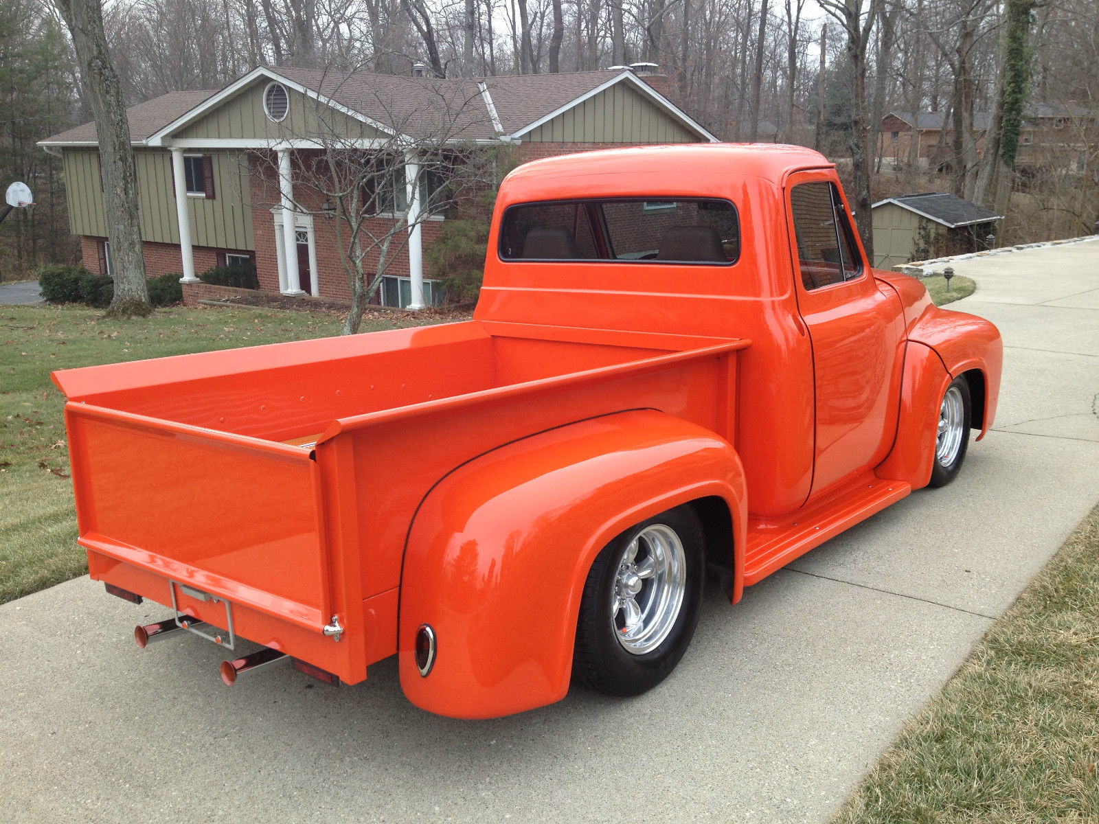 1953 ford f 100 pickup truck street rod turn key 400 small block ac heat for sale in. Black Bedroom Furniture Sets. Home Design Ideas