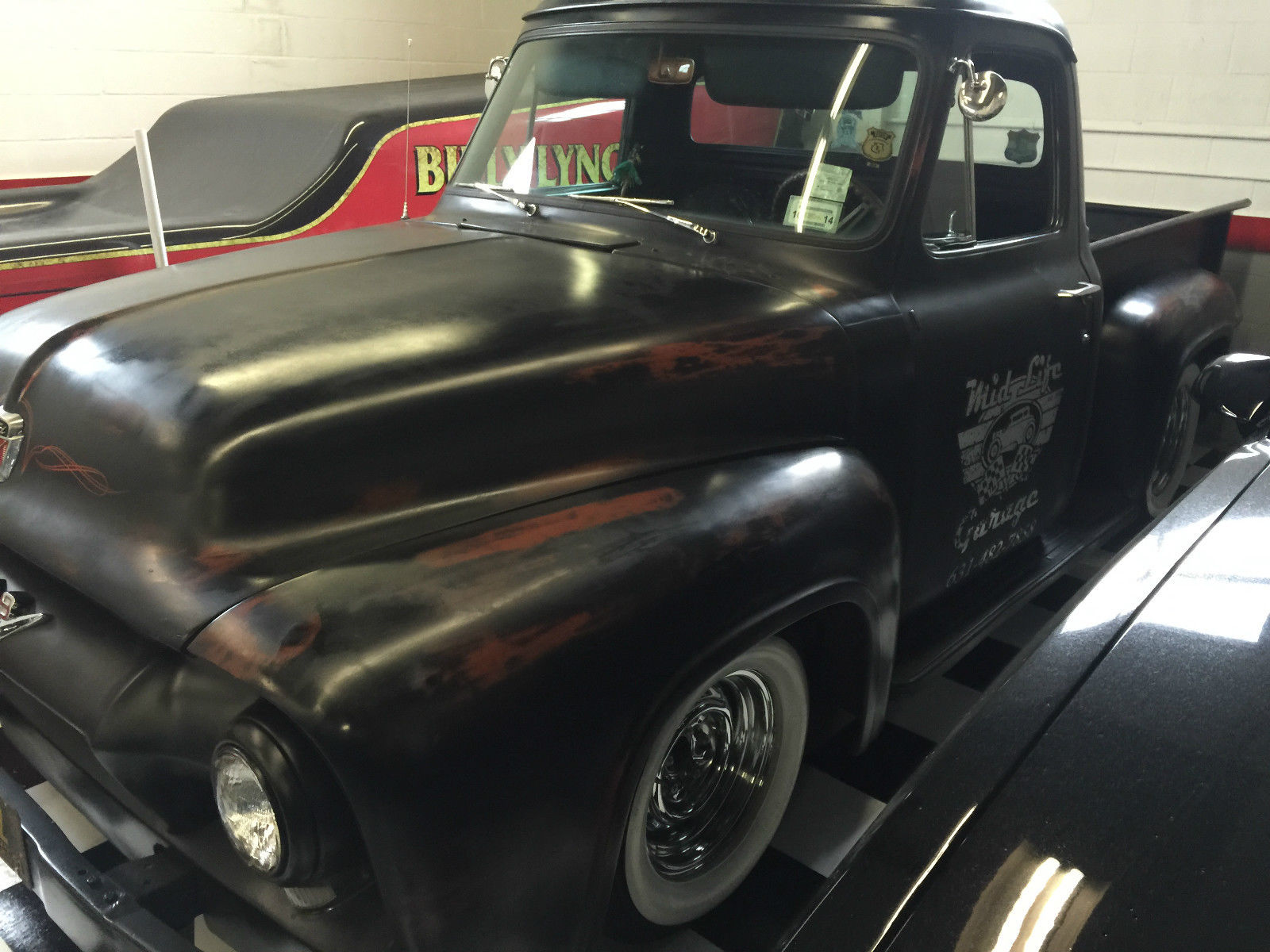 1953 Ford Pickup F100 Ratrod Shop Truck Slammed Hot Rod For Sale In 1955 Rat F 100