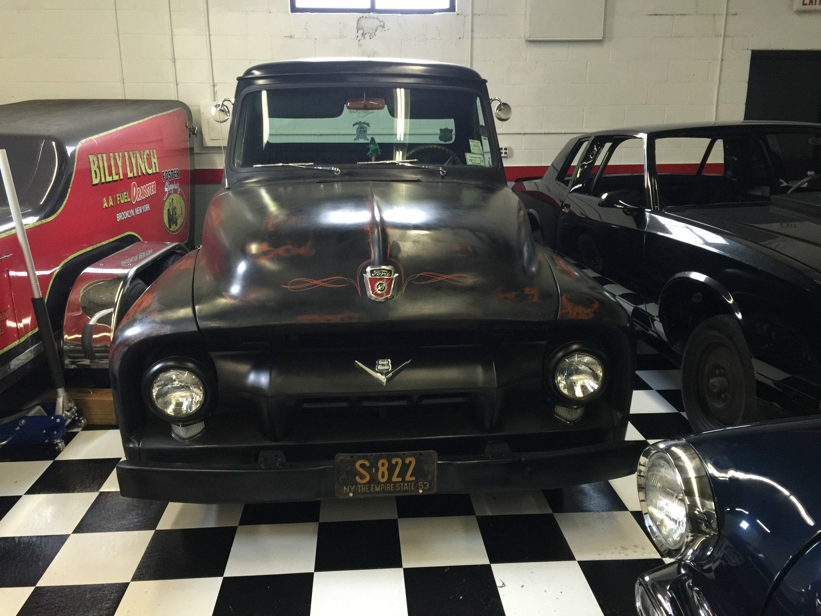 1953 Ford Pickup F100 Ratrod Shop Truck Slammed Hot Rod For Sale In 1970 Lowered Technical Specifications Of F 100