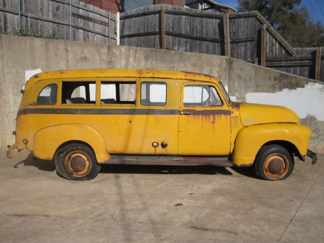 1953 Gmc School Bus Dallas County No Reserve Rat Rod