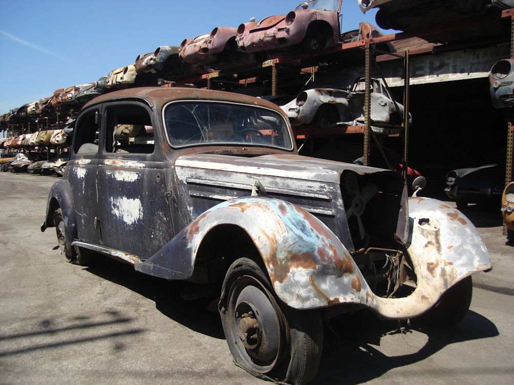 1953 mercedes 170 da project car for restoration for sale for Mercedes benz restoration