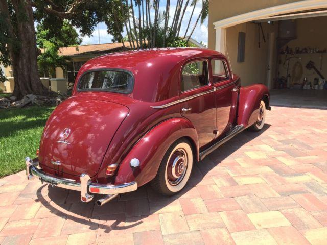 1953 mercedes benz 220 pre war style suicide doors older for Mercedes benz suicide doors
