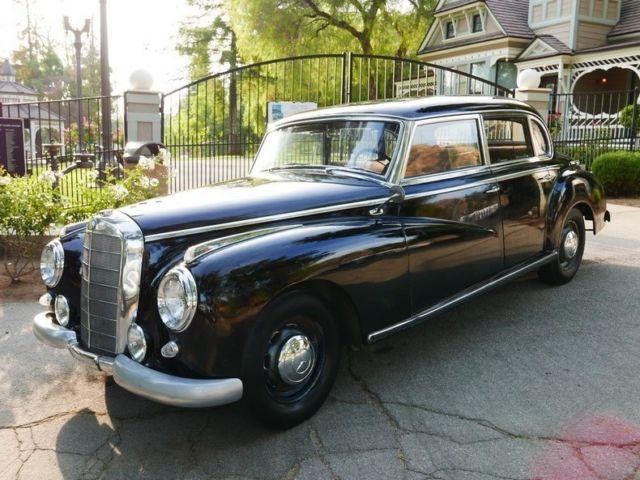 1953 mercedes benz adenauer 4 door sedan for 1953 mercedes benz