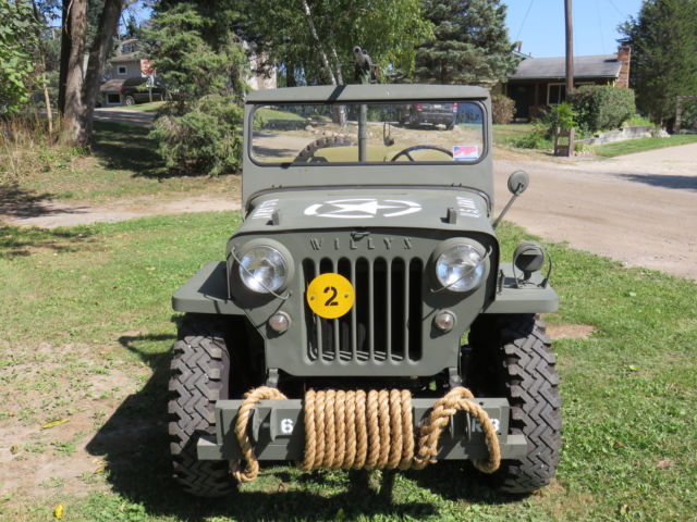 1953 willys jeep jc3b for sale in milford michigan. Black Bedroom Furniture Sets. Home Design Ideas