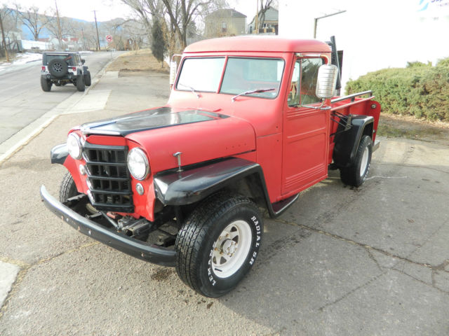 1953 willys truck 4wd for sale in colorado springs colorado united states. Black Bedroom Furniture Sets. Home Design Ideas