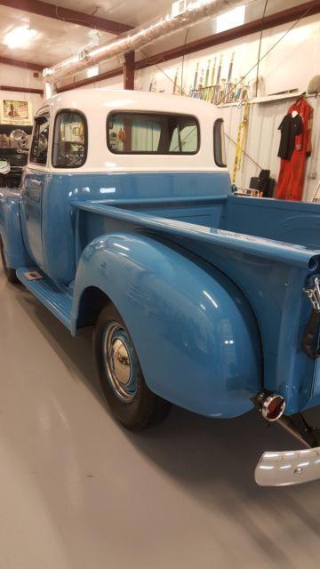 1954 Chevrolet 5 Window 3100 Pickup All Factory Original