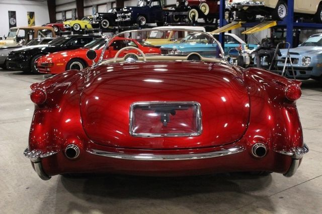 Grand Rapids Car >> 1954 Chevrolet Corvette 585 Miles Candy Apple Red Metallic Convertible LS3 V8 5 for sale: photos ...