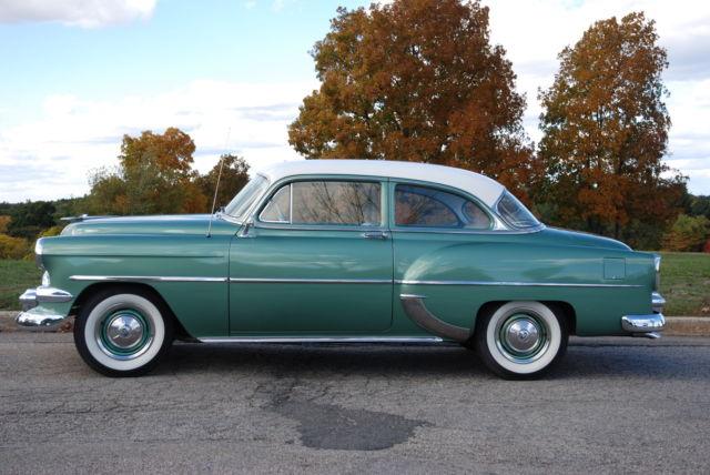 1954 chevy 210 2 door for sale in newton center for 1954 chevy 4 door
