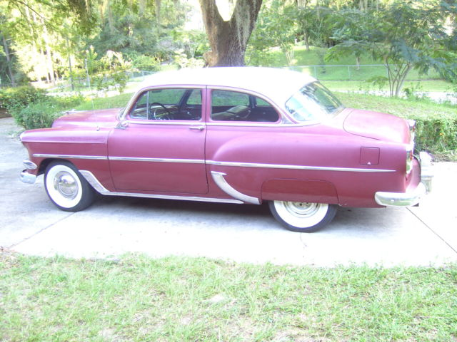 1954 CHEVY 210= 2DOOR 6 CYLINDER for sale in Dunnellon ...