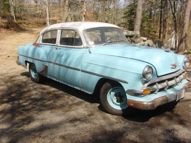 1954 chevy 210 4 door for sale in brewster massachusetts for 1954 belair 4 door