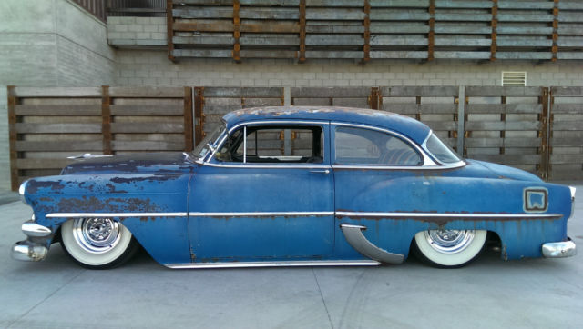 1954 Chevy 210 Deluxe Ls Swap Original Patina For Sale In