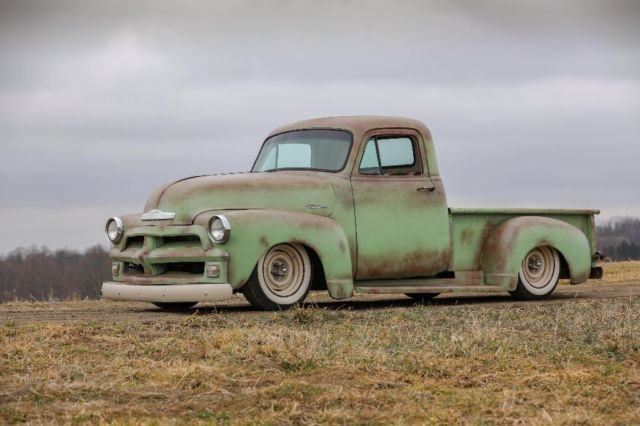 1954 Chevy 3100 Truck Rat Rod Hot Rod Slammed Lowered