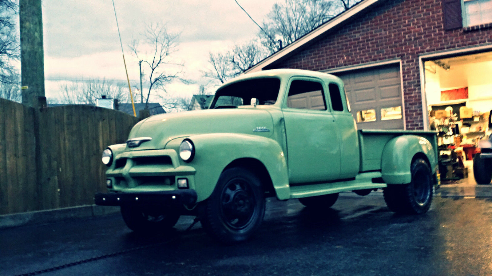 Chevy Window Extended Cab Stepside Dually Of A Kind Hauler Tow Rig