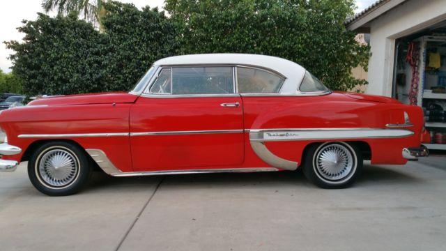 1954 chevy belair 2 door no post for sale in coachella for 1954 chevy belair 4 door