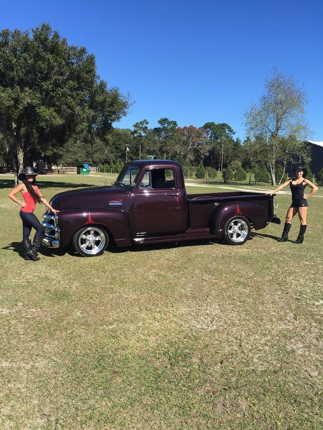 1954 Chevy Step Side 1 2 Ton Custom Pickup Truck First