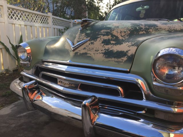 Transmission Fluid Color Brown >> 1954 Chrysler Town & Country Surf station wagon, a California Classic