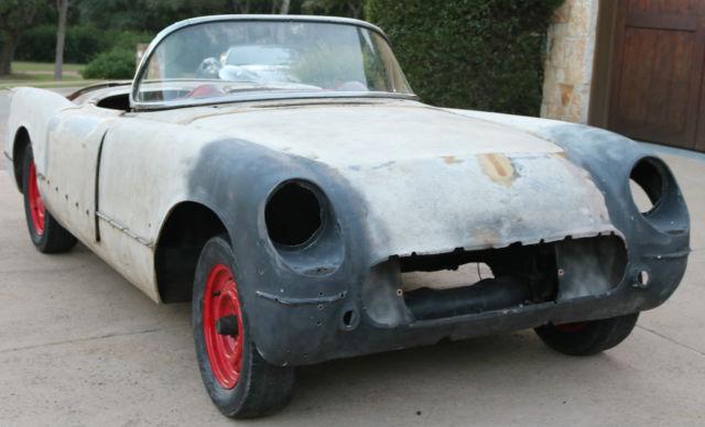 1954 Corvette Project Car Restorod Resto Rod Hotrod Hot Rod For Sale Photos Technical Specifications Description