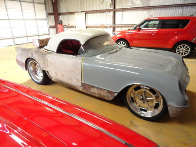1954 CORVETTE RESTOMOD PRO STREET PRO TOURING C1 NCRS 1953 1955 LS1 PROJECT