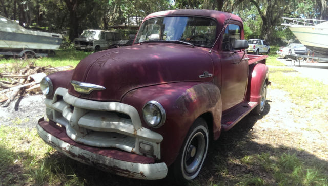 1954 five window chevy 3100 pick up for sale in apopka for 1954 chevy truck 5 window for sale