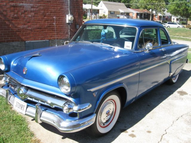 1954 Ford 2 Door Customline Coupe312 YBlock V 83 Speed Manual TransRare Coupe