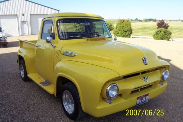 1954 Ford F100 Y Block Tripower for sale: photos, technical