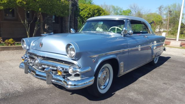 1954 Ford Victoria Crestline For Sale Photos Technical