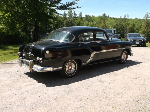 1954 Pontiac Chieftain 8 Cylinder 4 Dr Time Piece Look