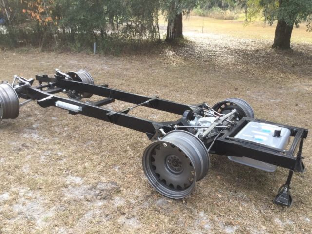 1955 1959 Chevy Pickup Chassis With Corvette Suspension