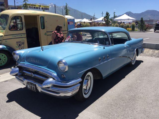 1955 buick special 2 door ht no reserve dealer installed for 1955 buick special 2 door