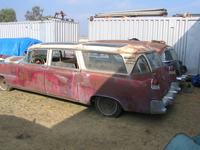 1955 cadillac skyview station wagon broadmoor custom built 6 made three 4 sale for sale in. Black Bedroom Furniture Sets. Home Design Ideas