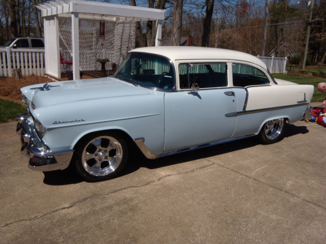 1955 chevrolet 2 door post for sale in statesville north for 1955 chevy two door