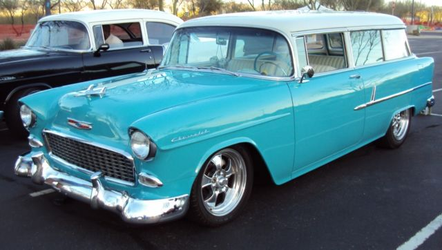 1955 Chevrolet 210 2 Door Station Wagon For Sale In Tucson