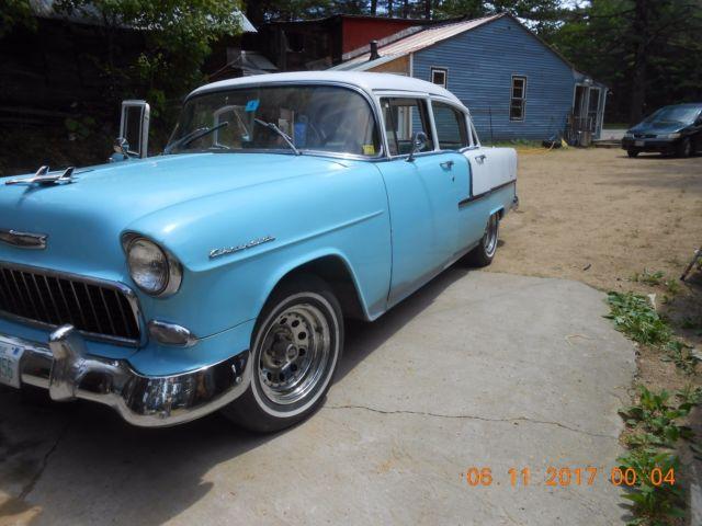 1955 chevrolet bel air 4 door sedan for 1955 chevrolet 210 4 door sedan